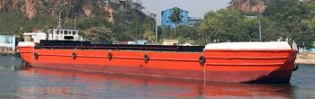 225' Self Propelled Split Hopper Barge 2017 - Capacity 1000 m3