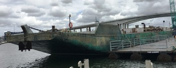 160' x 40' Hold Barge Two Compartment - Total Capacity 1000 Ton For Sale