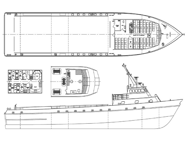 165' Fast Supply Crew Boat FSIV - 90 Passengers For Sale