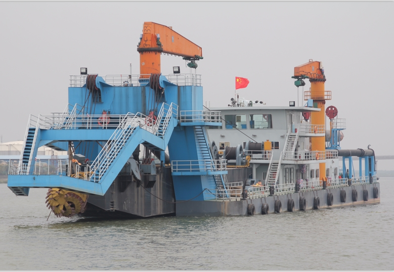 66m Cutter Suction Dredger 2011 - 2000 CBM HR - Accommodates 14 For Sale