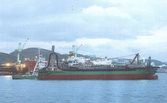 88m Sand Carrier 1992 - Pusher and Barge Combination - DWT 6470 For Sale