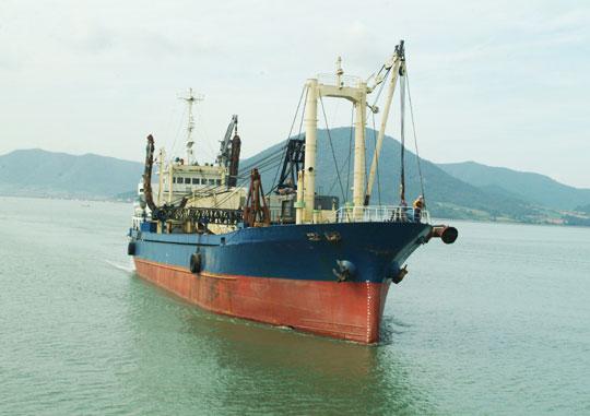 71m Sand Carrier 1990 - Sand Pump - DWT 2550 For Sale