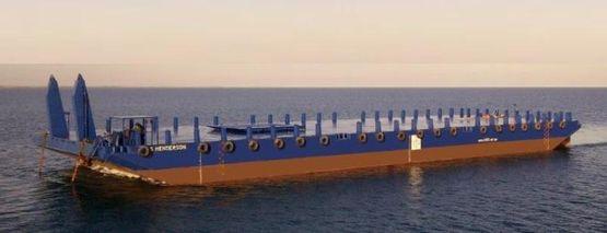 250' Deck Cargo Ballast Barge 2011 - 20t m2 Deck Loading - DWT 5500
