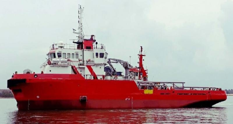 50m AHT Salvage Utility Tug Boat 2005 -  DWT 892 For Sale