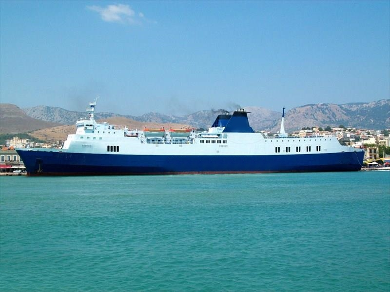 164m Night ROPAX Vessel 1974 - Japan Built - 990 PAX - 450 Cars For Sale