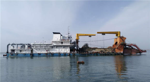 96m Cutter Suction Dredger Non Self Propelled - 3000 cbm For Sale