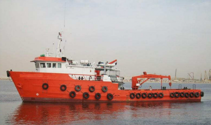 38m Utility Supply vessel - 1200 BHP For Sale