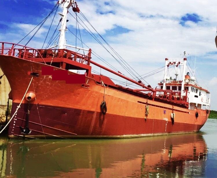 44m Geared General Cargo Vessel - DWT 700 For Sale