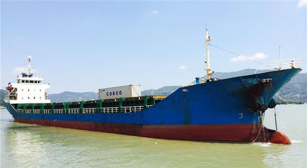 96m Multi Purpose Cargo Vessel MPP - DWT 4438 For Sale