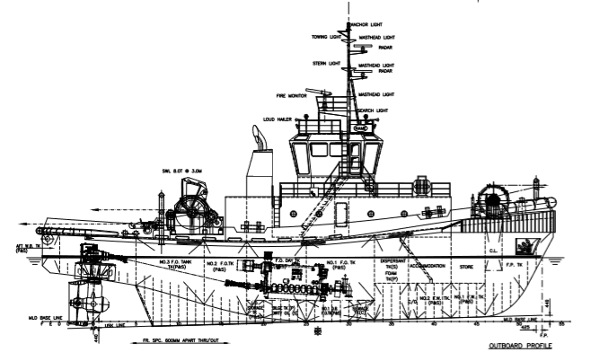 118' Ocean Tug 6598 HP - 2007 For Sale