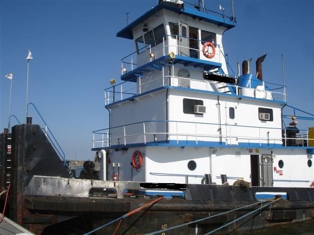 90' Inland Push Boat 2400 HP For Sale
