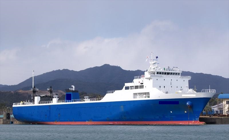 121m Roll On Roll Off Cargo Vessel - DWT 2080 For Sale
