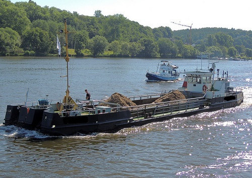 31m Self Propelled Split Barge 1985 - Coastal or Inland For Sale
