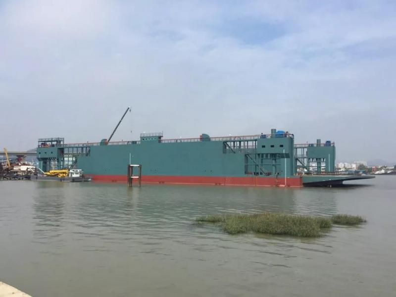 130m LCT Floating Dock 2017 - 9000 MT For Sale