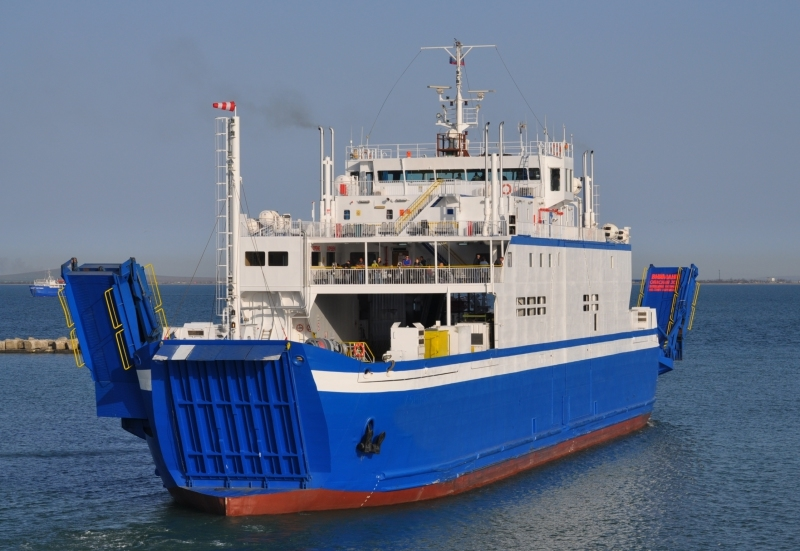 94m Double Ended ROPAX 1989 - Close Type - 600 Pax - 169 Cars For Sale