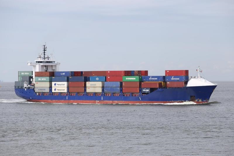 145m Feeder Container Vessel 1050 TEU 13248 DWT - 1996 For Sale