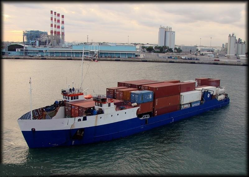 81m RORO Container Ship For Sale