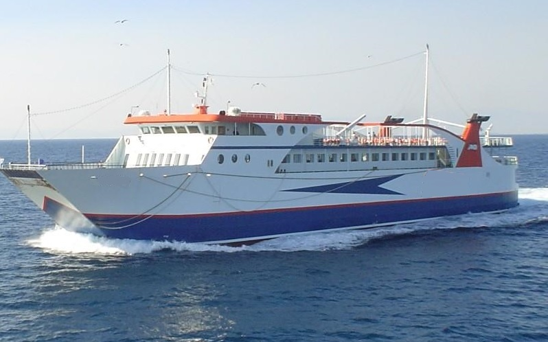 82m Closed Type ROPAX Day Ferry 2000 - 739 PAX - 115 Cars For Sale