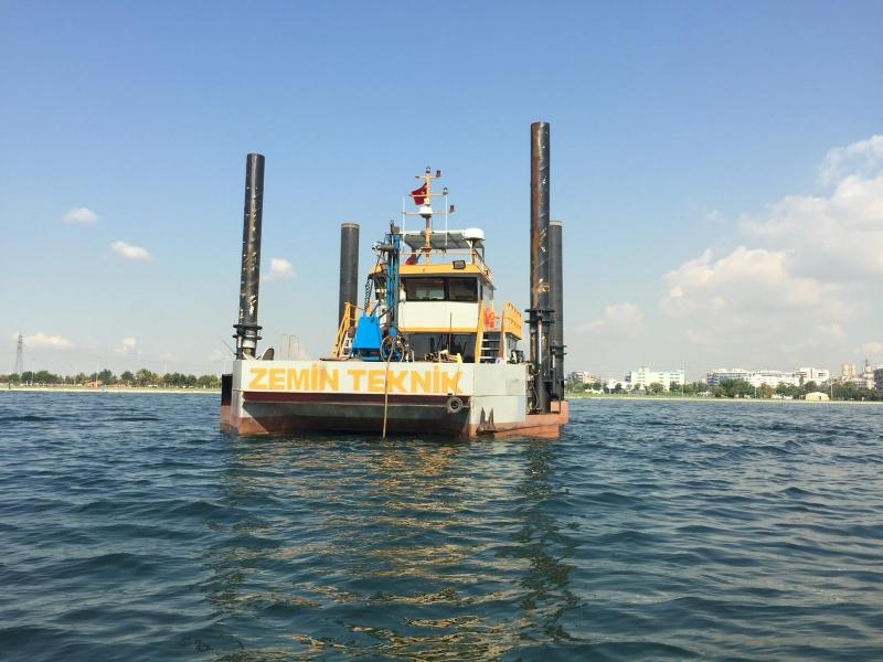 20m Jack Up Self Elevating Vessel Boat