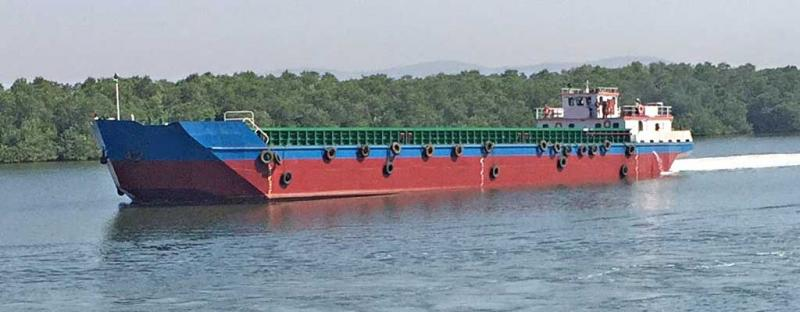 72m Self Propelled Deck Barge 2700 DWT - 2018 For Sale