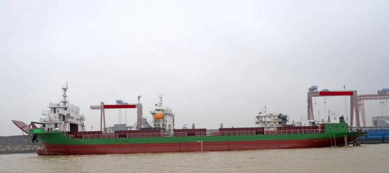 101m Self Propelled Barge Bow Bridge Type - DWT 5180 For Sale
