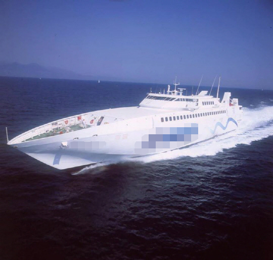 83m High Speed RORO Passenger Car Ferry - Monohull - 654 PAX 58 Cars