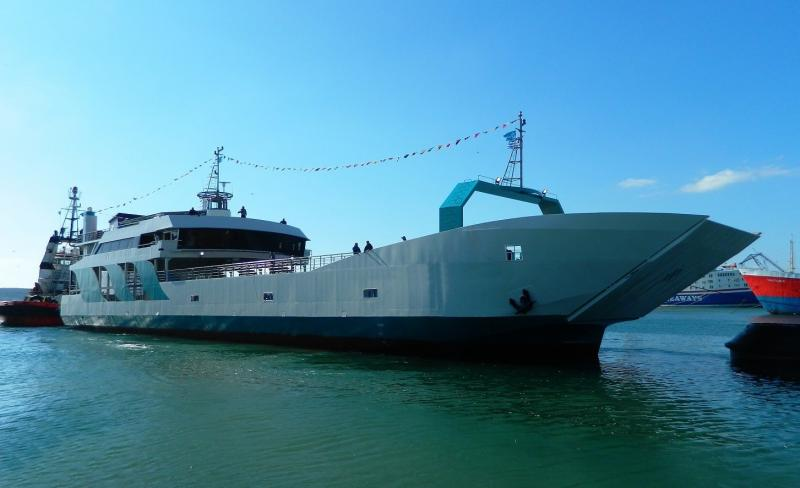 61m LCT ROPAX Ferry 2018 - 550 PAX - 76 Cars - DWT 760 For Sale