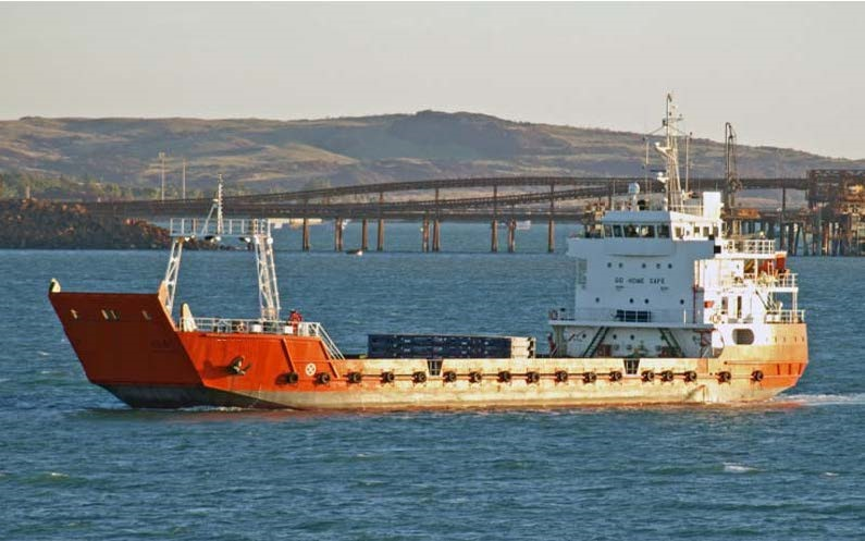 65m Landing Craft 2016 - 79 TEU - Bow Thruster - 22 PAX For Sale
