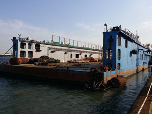 230m Floating Dock 2009 - 15000t TLC - 2 Crane Sets