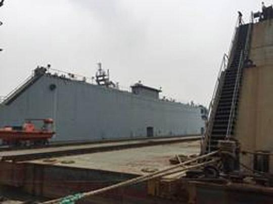 134m Floating Dock 2010 - 5500 TLC -  Rebuilt 2016 For Sale
