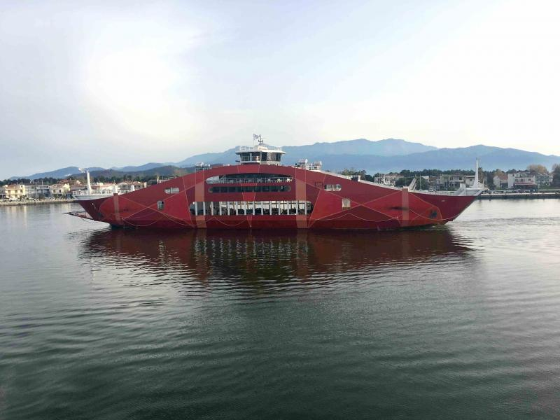 100m Open Type Double Ended ROPAX Ferry 2018 - 1130 PAX For Sale