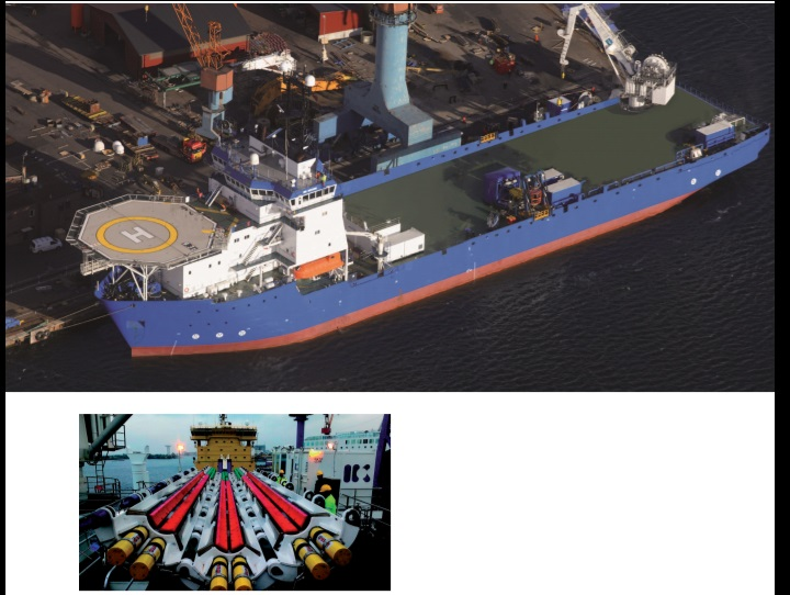 130m Multi Purpose Offshore Vessel - DP2 With Moonpool For Sale