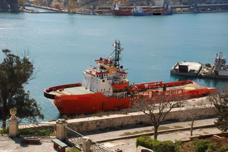 80m Anchor Handling Tug Supply Vessel - BP 156 For Sale