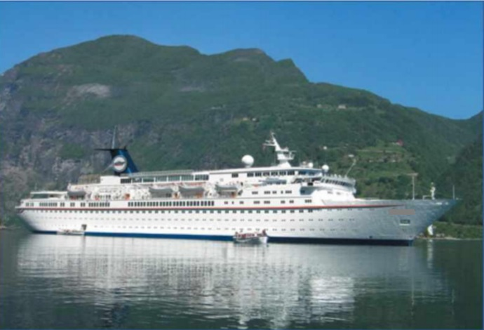 164m Luxury Cruise Ship - 1065 Passengers For Sale