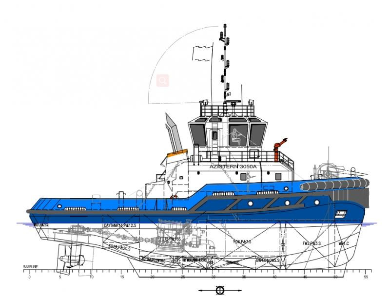 30m ASD Harbor Tug Boat New Built - BP 53