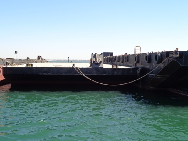 44m Flat Top Deck Barge 2007 - Clear Deck 600SQM - DWT 1231 For Sale