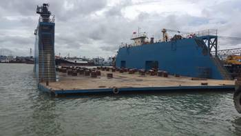 59m Floating Dry Dock 2016 - Lift Capacity 2200 mt For Sale