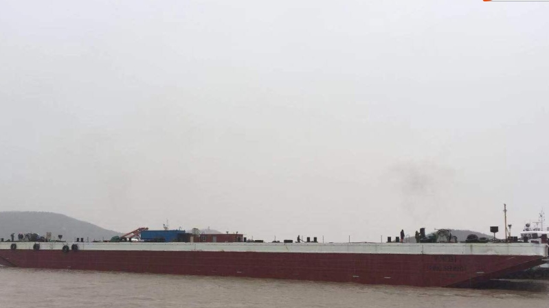 95m Ballast Deck Barge 2008 - 25T M2 Deck Loading - DWT 11000 For Sale