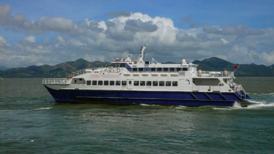 40m Catamaran Fast Ferry 1993 - Water Jet - 318 PAX - DWT 43 For Sale