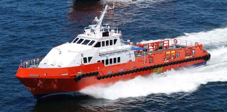 36m Crew Boat 2012 - 90 PAX - Bow Thruster - Clear Deck 90 m2 For Sale