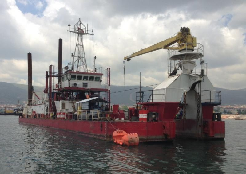 46m Cutter Suction Dredger 1984 - Non Propelled - 3200 CBM HR For Sale