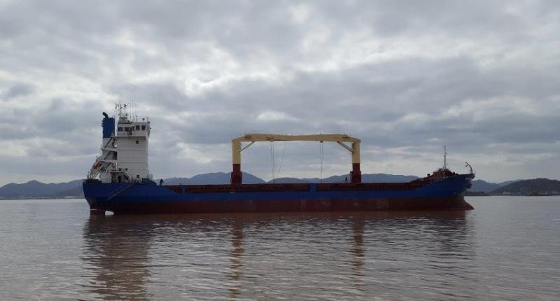 103m General Cargo Ship 1996 - 400 TEU - DWT 5820 For Sale