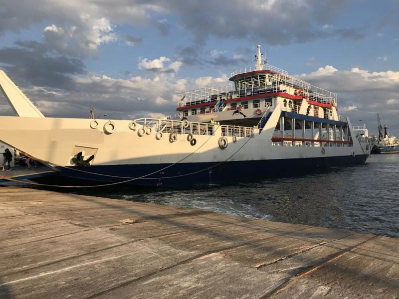 83m ROPAX Passengers and 188 Car Ferry For Sale