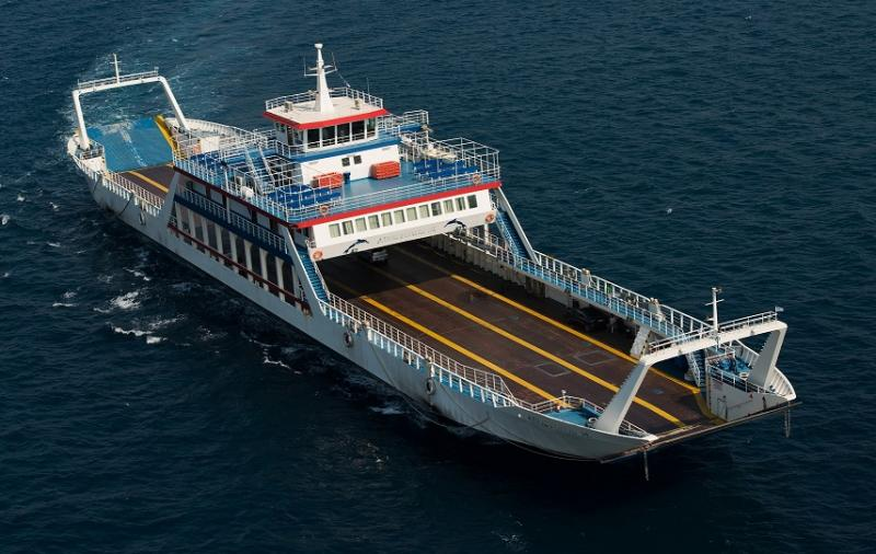 104m ROPAX Passengers and 208 Car Ferry
