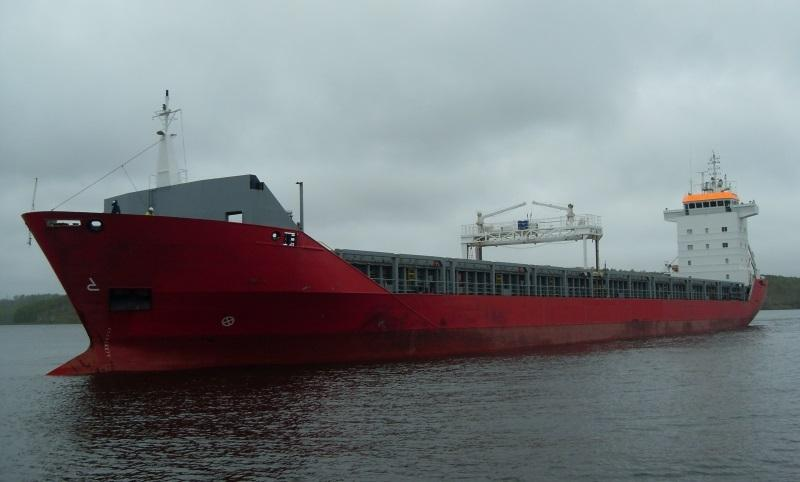 134m Ice Class Double Hull Cargo 9200 DWT - 1999 For Sale