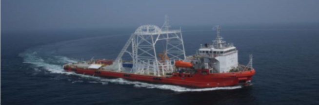 93m Offshore Vessel Cable Layer 7716 DWT - 2012 For Sale