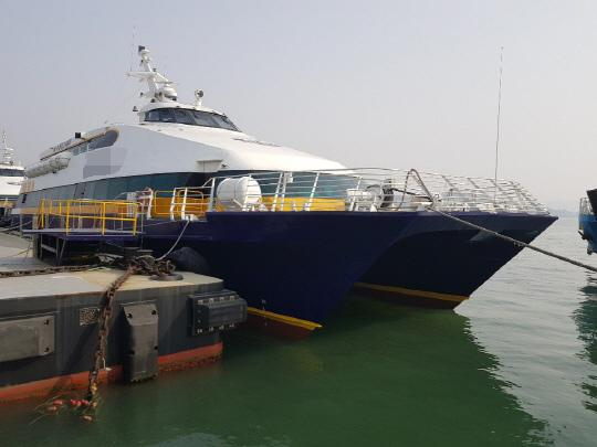 40m Catamaran High Speed Ferry 1994 - 360 PAX - DWT 48 For Sale