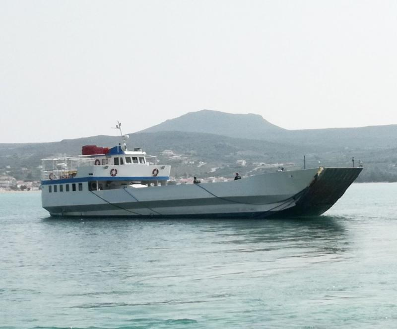 36m LCT ROPAX 1986 - 150 Pax - 17 Cars For Sale