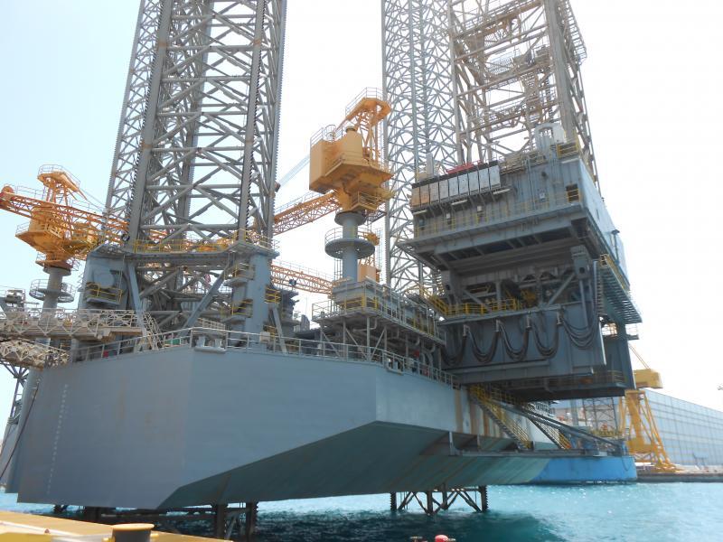 New Jack Up Barge - Letourneau Super 116-E - 477' Leg Length