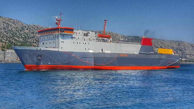 110m RORO PAX Vessel 1974 - 126 PAX - 115 Cars - DWT 1593 For Sale